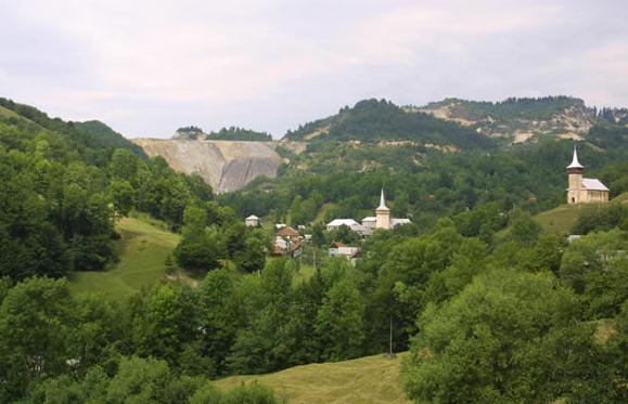 Rosia Montana Peisajul