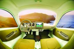 interior masina ecologica