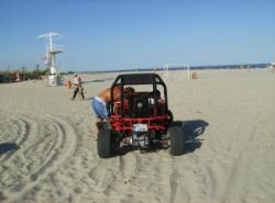 ATVuri pe plaja SUlina