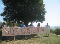protest pentru gusterita