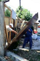 demolarea teraselor din herastrau