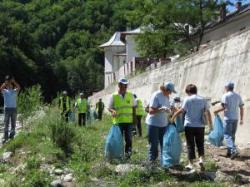 voluntari - ecologizarea jiului