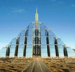 orasul piramida fara emisii