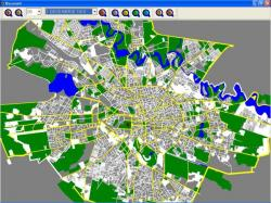 harta verde bucuresti