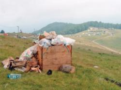 deseurile polueaza natura