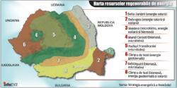 harta resurselor regenerabile de energie