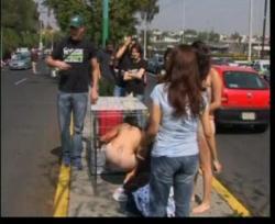 proteste in ciudad de mexico