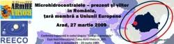 Conferinta: Microhidrocentrale prezent si viitor, in Romania, tara membra a Uniunii Europene