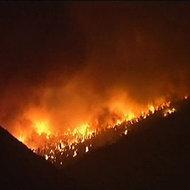 Unul dintre cele mai cunoscute parcuri naturale din America s-a transformat intr-un infern. 90.000 de hectare de vegetatie, distruse de flacari