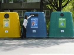 Lipsa pubelelor de reciclare selectiva poate lasa firmele de salubritate fara licente