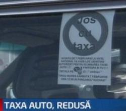 taxa auto redusa