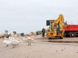 curatenie pe plaja