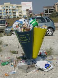 gunoaie pe litoral