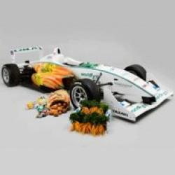 masina verde de formula 1