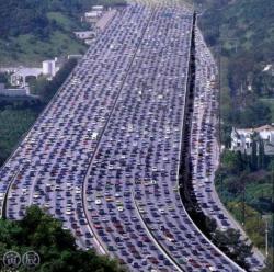 trafic China
