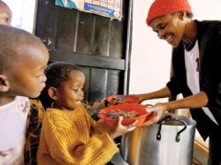 copiii africani