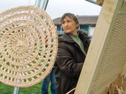 Paulina Haralasca lucreaza la razboiul pentru rogojini