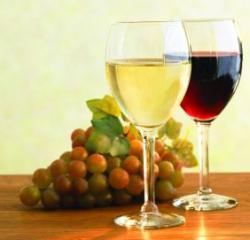 vin alb - vin rosu