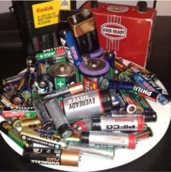 baterii uzate