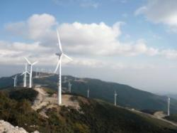 China centrale eoliene