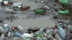 Mehedin?i: Golful Cerna, poluat cu PET-uri ?i resturi menajere