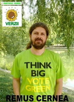 Remus Cernea: Viitorul stă în politica verde, iar ţinta noastră este să promovăm tehnologiile verzi!
