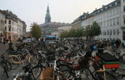 Copenhaga pe biciclete