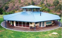 Forma octogonala a casei