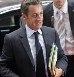 Presedintele Frantei Nicolas Sarkozy