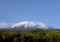 Zapada de pe Kilimanjaro
