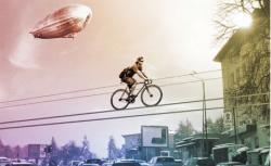 cu bicicleta prin nori