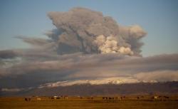 vulcanului Eyjafjallajokull