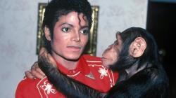 Michael Jackson si Bubbles