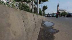 trotuarele din Bucuresti