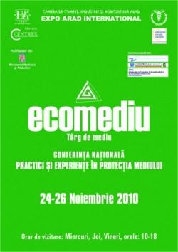 Ecomediu, un târg pentru mediu şi energii regenerabile