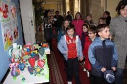 """""""Salveaza planeta!"""": Expozitie din materiale reciclabile la Primaria Oradea"""