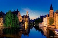 Jumătate din Belgia se află sub ape