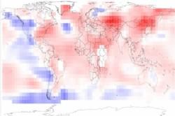 Anul 2010, record de caldura planetara