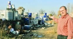 ÃŽn doi ani, depozitul de la marginea Capitalei s-a umplut de materiale toxice
