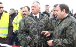 Suceava: Ministrul Mediului, Laszlo Borbely a vizitat ÅŸantierul depozitului ecologic de la Moara