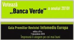 "Primaria Roman, nominalizata ca ""primarie verde"" la Gala premiilor revistei Infomediu Europa"