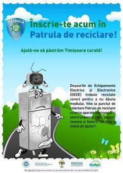 Asociatia Romana pentru Reciclare RoRec lanseaza Patrula de reciclare