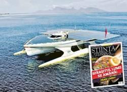 """Afla mai multe despre """"vaporul- minune"""" in noul numar al revistei Stiinta & Tehnica, pe care o gasiti la chioscuri, incepand cu 2 mai, la pretul de 8,8 lei"""