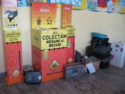 O nouă campanie de colectare a deşeurilor electrice şi electronice la Focşani