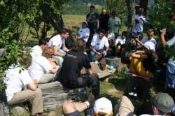 Voluntarii de la T??uleasa Social au plantat 12 mii de puie?i