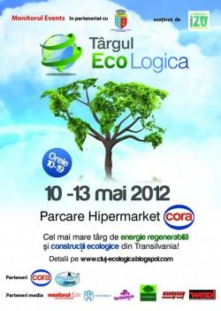 Târgul EcoLogica își așteaptă vizitatorii în parcarea Cora Cluj-Napoca