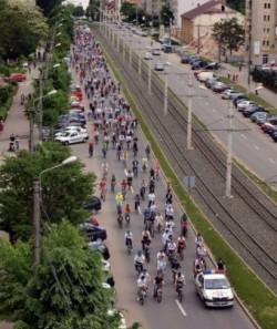 """Arădenii sunt așteptați la """"Marșul Bicicliștilor"""""""