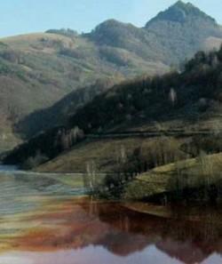 Au fost stabilite cauzele poluarii accidentale de pe raul Aries: Precipitatiile abundente si antrenarea aluviunilor de pe versanti