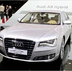 Lecţie de ecologie predată de Audi A8 Hybrid
