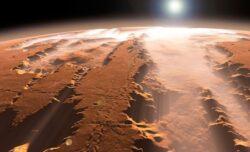 Viata pe Marte, distrusa de o coliziune catastrofala